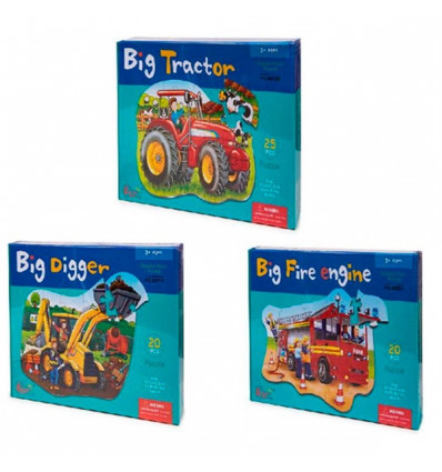 PUZZLE TRACTOR 3 MOD.22X32X5*3/36