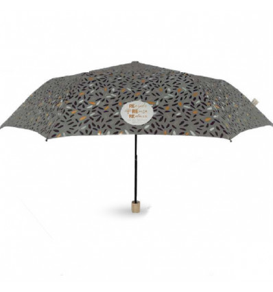 Perletti GREEN umbrella 54/8 Manual - Recycled Fabrid and wooden6